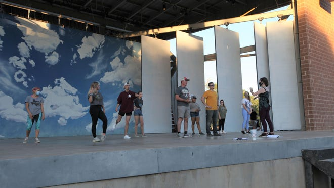 """Moonlight Musicals has begun rehearsing for their summer production, """"Xanadu,"""" starting on July 9 in Lubbock."""