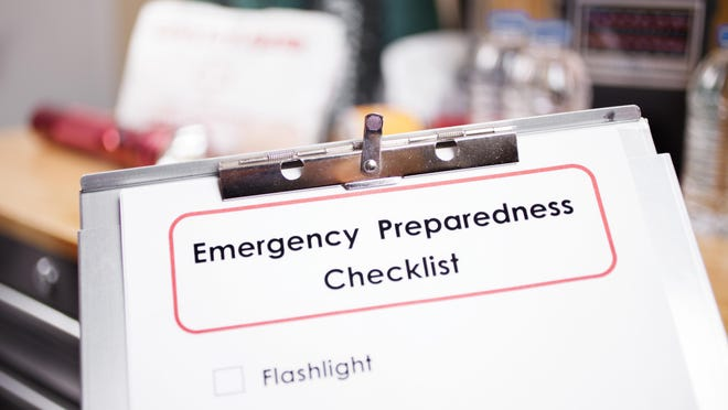 It's good to check your emergency preparedness checklist before a severe storm arrives. You can find one at