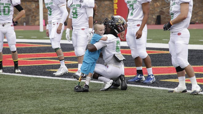 For nearly 50 years, the Kansas Shrine Bowl has raised proceeds for the Shriners Hospital for Children, totaling more than $3 million in that span. The event also allows the athletes to interact with the hospital's patients, having a long-lasting impact in their lives.