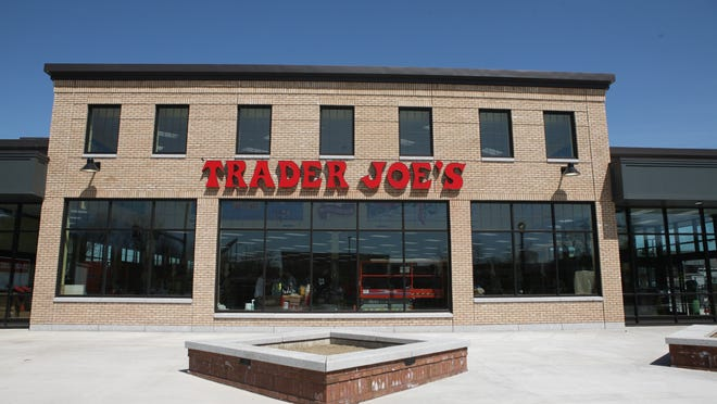 The new Trader Joe's store is seen Thursday morning in South Burlington.