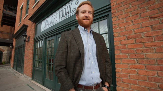 Dan White is founder of the Groupon-style deals start-up Localvore Today, which is headquartered at Main Street Landing in Burlington.