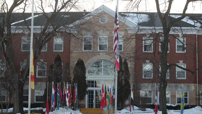 The Maharishi School of the Age of Enlightenmment in Fairfield. The private school has the highest rate of unvaccinated children of any Iowa school with more than 100 students, according to data from the Iowa Department of Public Health.