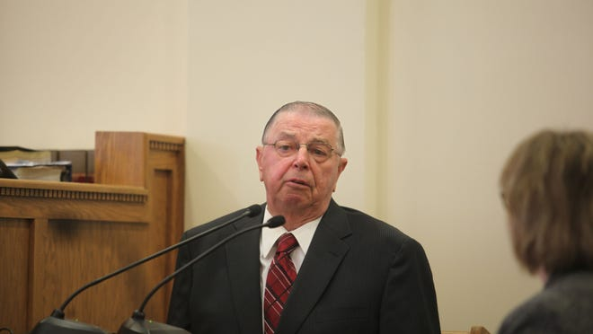 Henry Rayhons denied from the witness stand Friday that he ever took advantage of his wife, Donna, and he said they had no sexual contact on the night when authorities allege he abused her in a nursing home room.