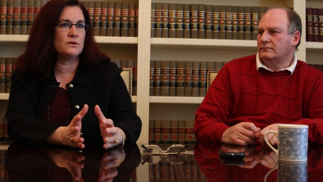 Thal and Julian Wendrow talk about their ordeal in their lawyer's office in Bloomfield Hills on Feb. 8, 2011.