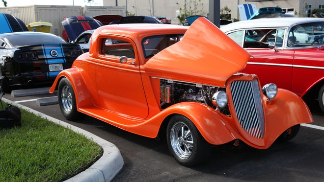 More than 800 cars drive into JetBlue Park on Saturday for the two-day SWFL Hot Rod Nationals Car Show