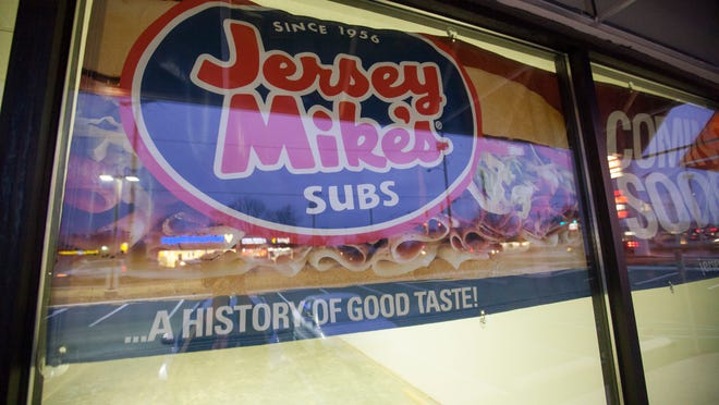 An empty storefront will soon be home to a Jersey Mike's sub shop in the Muncie Marketplace. The storefront is between the Men's Wearhouse and the AT&T store.