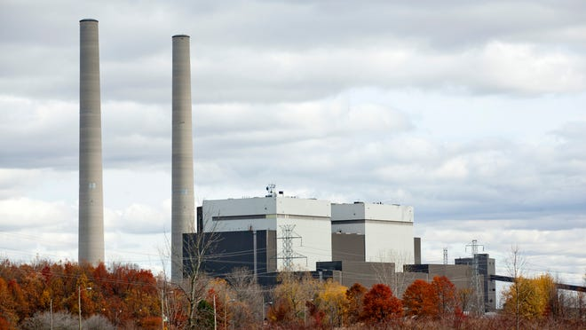The coal-fired DTE Belle River Power Plant in East China Township would likely be replaced by a natural-gas fired plant.