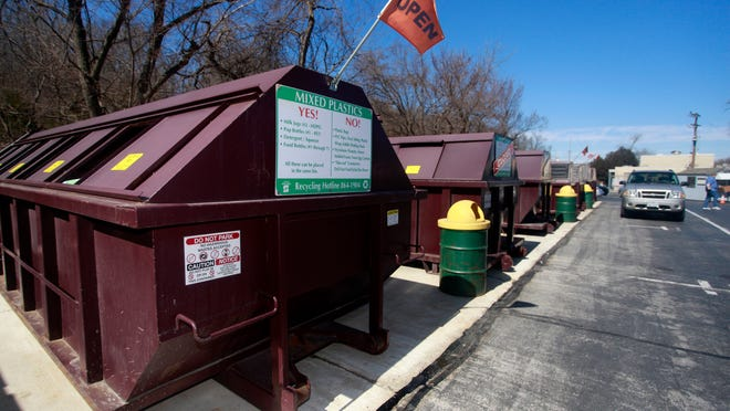 Springfield's recycling centers have been closed since March 19, due to the coronavirus outbreak.