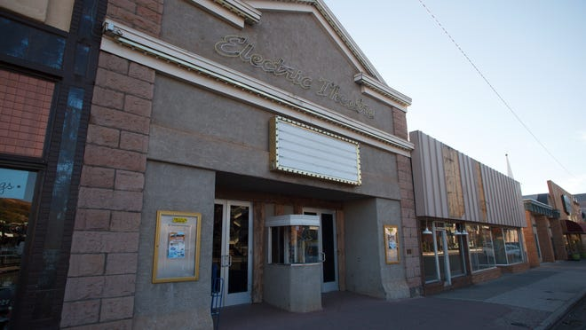 The Electric Theater stands on Tabernacle Street in St. George Thursday, Nov. 14, 2013. The City of St. George approved $3 million last week to rehabilitate the century-old theater and two adjacent buildings.