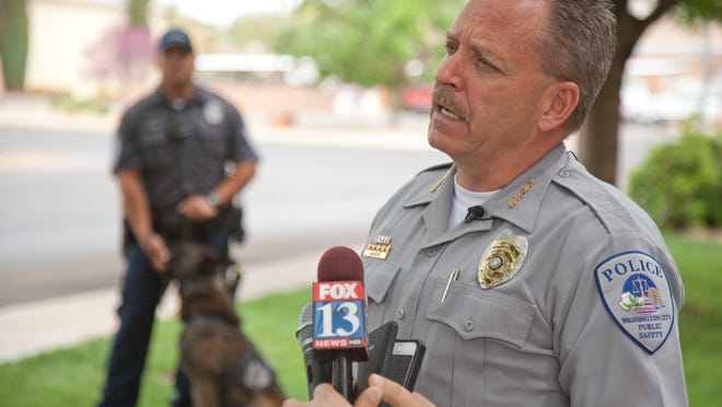 Washington City Police Department Chief Jim Keith will step down Monday.