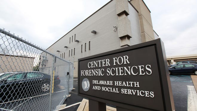 The Medical Examiner's Office in Wilmington.