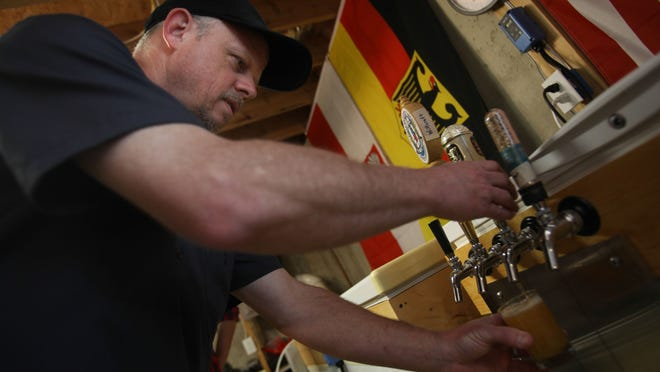 Ron Price, a home brewer and owner of Warlock Brewing Co., plans to open a microbrewery in the Smyrna business park.