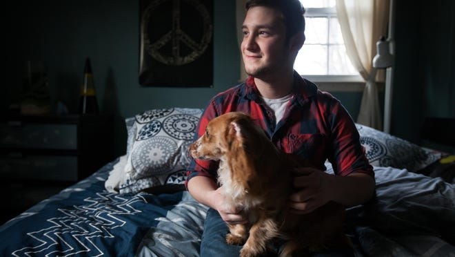"""19-year-old Anthony Alfano credits the Rosenblum Center at Christiana Care with saving his life. """"It felt like home,"""" Alfano said of the center, which will be closing its door soon."""