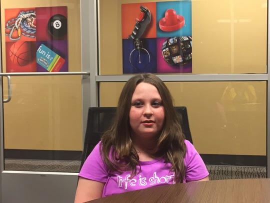 Grace Kostyk, 10, has battled cancer.