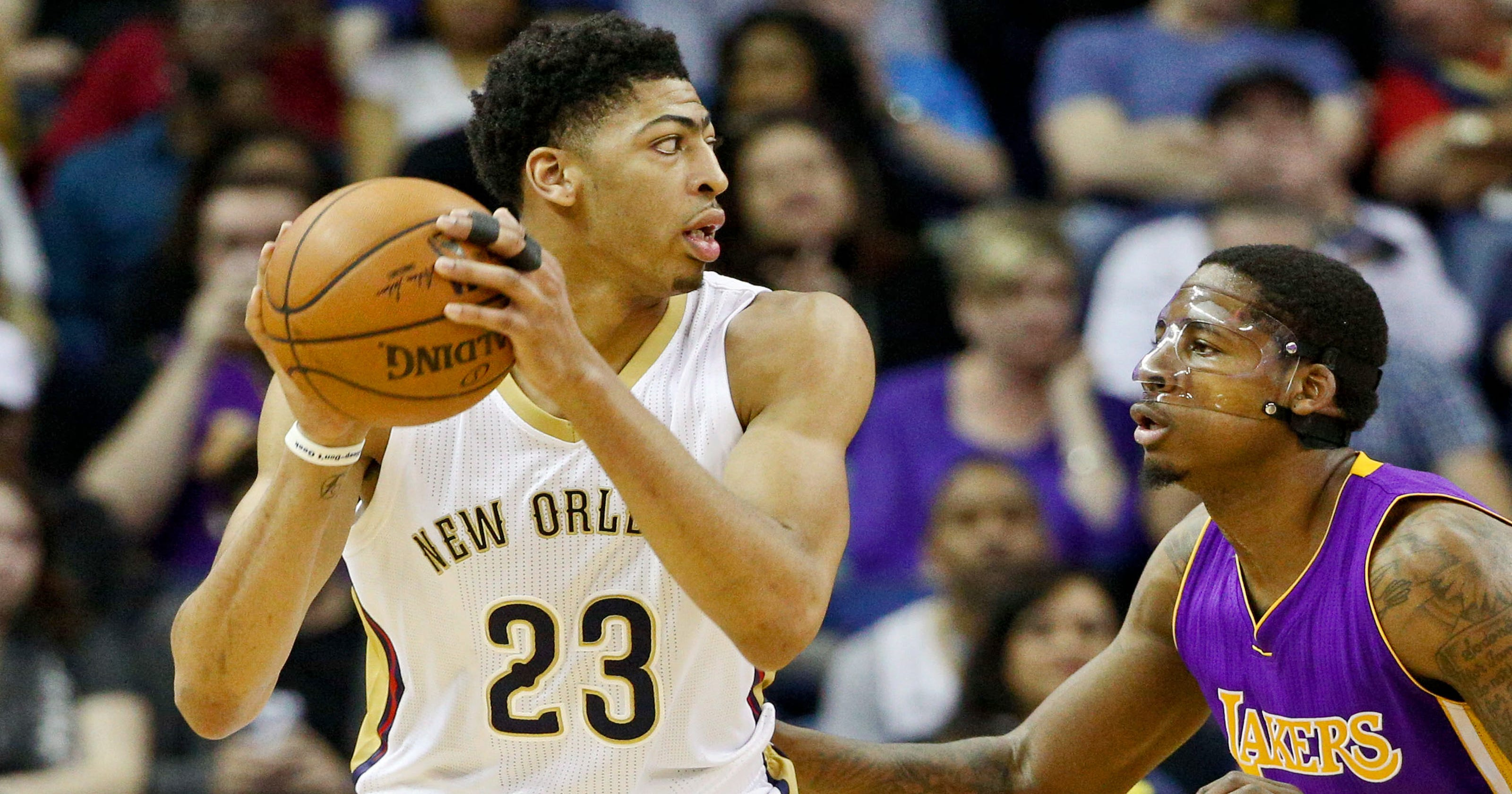 a073c3b98 Anthony Davis returns to help Pelicans rout Lakers