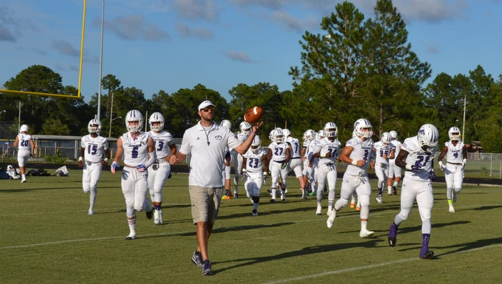 Fletcher takes the field in a Week 3 match up against Sandalwood.