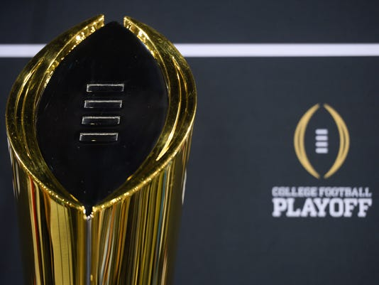 CFP National Championship trophy