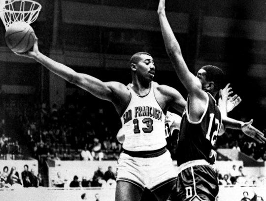 Wilt Chamberlain: four-time MVP (1960, '66, '67, '68).