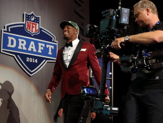 Ha Ha Clinton-Dix had everyone talking at Thursday night's NFL Draft.