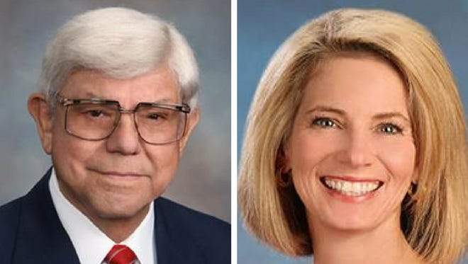 District 4 trustee Catherine Susser accused District 3 trustee Tony Diaz of extortion during Monday's lengthy board meeting.The accusation was made during a discussion on next year's calendar options.