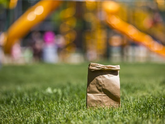 Free lunches will be available at Main Street Park