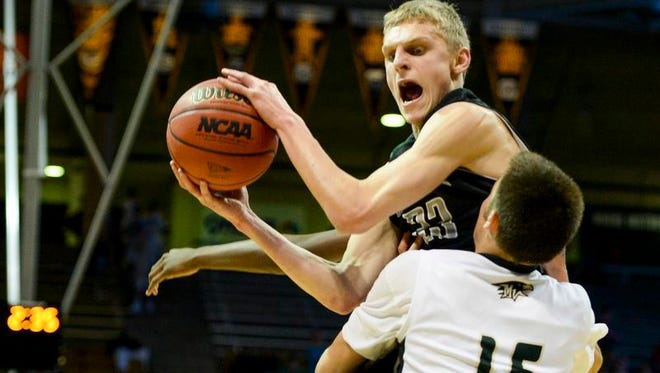 Fossil Ridge's Alex Semadeni shown in a game earlier this season. Semadeni committed Tuesday to play at Fort Lewis College.