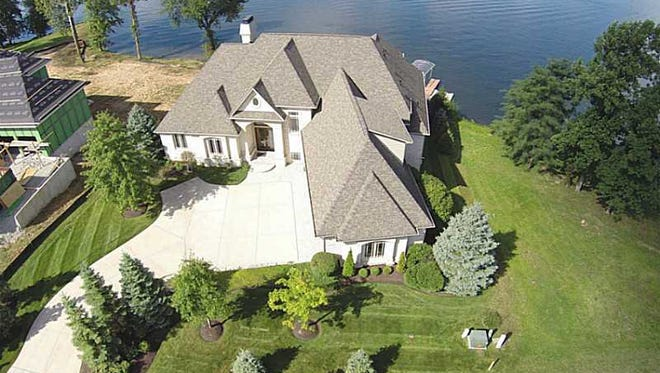 An overview of IndyCar driver Scott Dixon's home, which is selling for $1.2 million.
