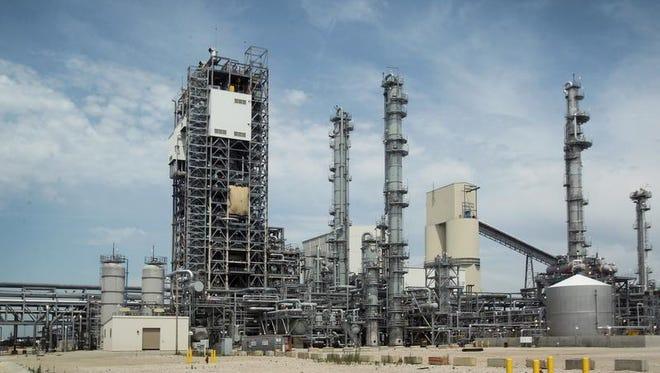 Duke Energy's new $3.5 billion coal-gasification plant opened in 2013 in Edwardsport.