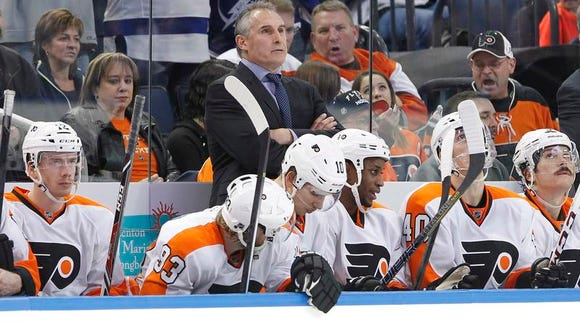 Flyers coach Craig Berube