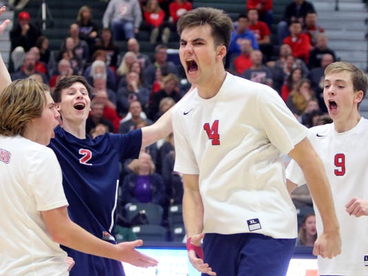 Brookfield East Boys Volleyball