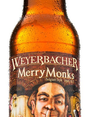 Weyerbacher Merry Monks, from Weyerbacher Brewing Co. in Easton, Pa., is 9.3 percent ABV.