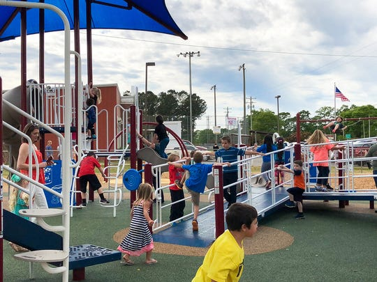 The new playground at Chumuckla Community Center and Ball Park in Jay is one of four all-inclusive playgrounds in Santa Rosa County, giving individuals of all abilities the chance to enjoy county resources.
