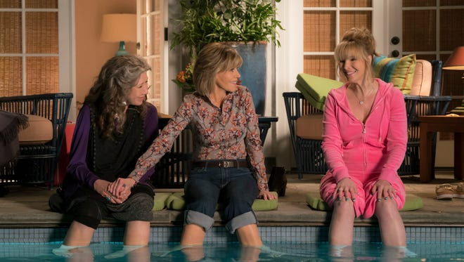 Lily Tomlin, Jane Fonda and Lisa Kudrow in 'Grace and Frankie.'