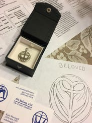 Dott Justice's Trinity Medallion started as an image
