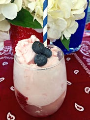Strawberry Bomb Fizz is sweet and refreshing for a