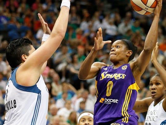 AP Sparks Lynx Basketball