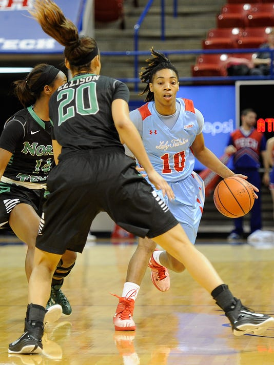Lady Techster Basketball vs North Texas