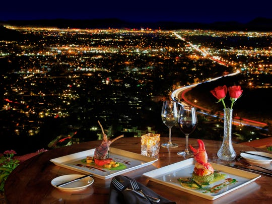 The Pointe Hilton Tapatio Cliffs Resort restaurant offers one of the most picturesque dining views in the Valley.