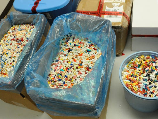 Some 195 pounds of prescription drugs collected at