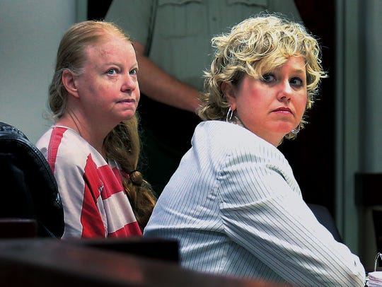 Sonya Babb, left, faced a charge of first-degree murder