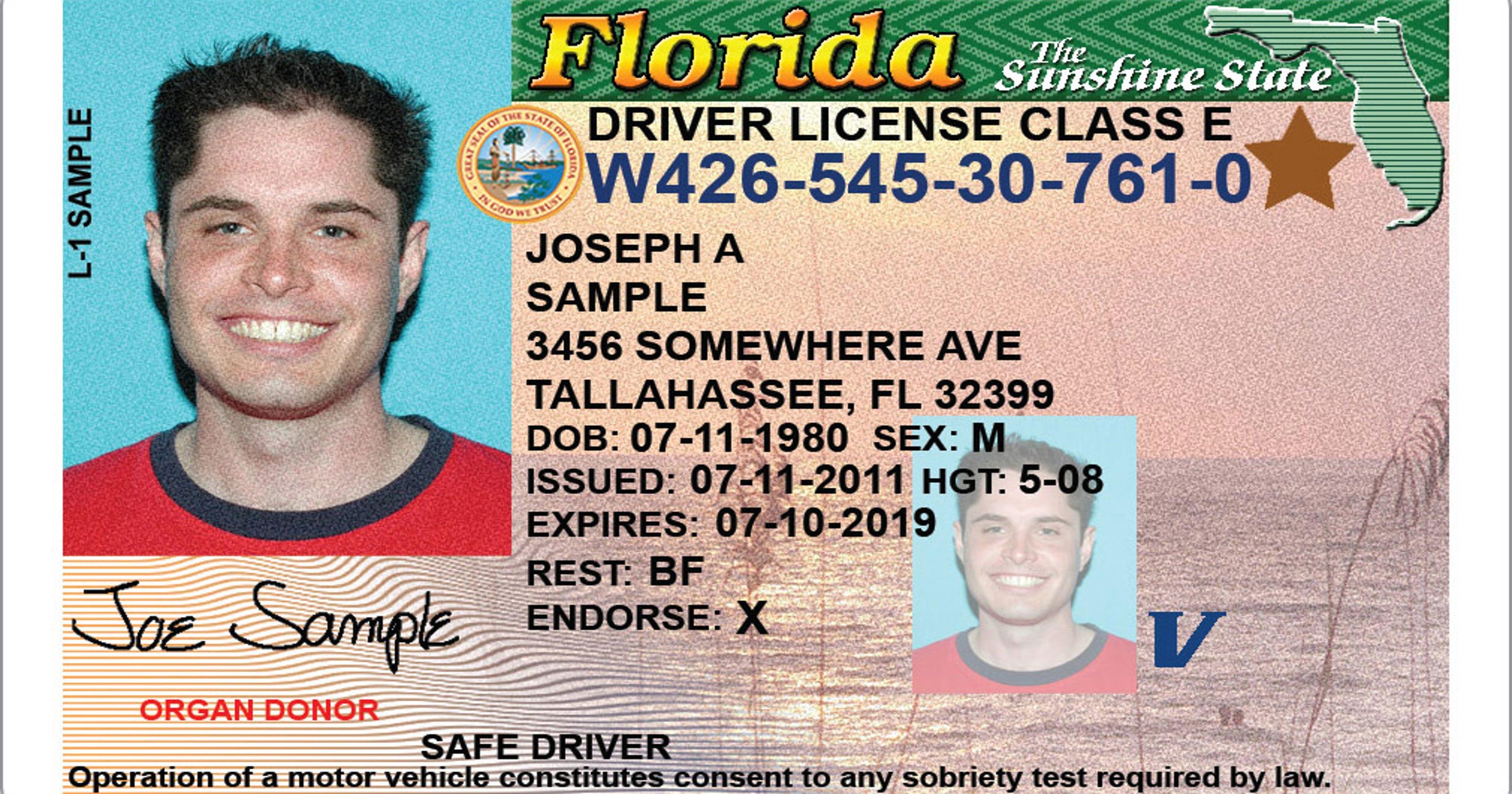 vero beach fl drivers license