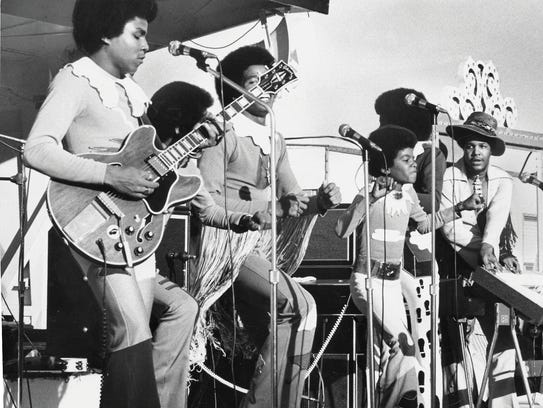 The jackson 5 performed at the Michigan State Fair