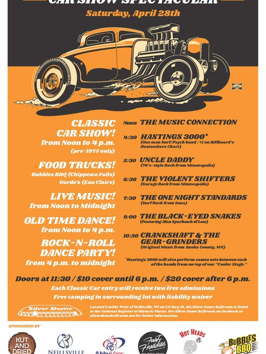 Old Time Dance And Classic Car Show Coming Up In Marshfield - Car show mn