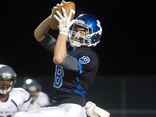 Stephen Decatur wide receiver R.J. Hayman was chosen
