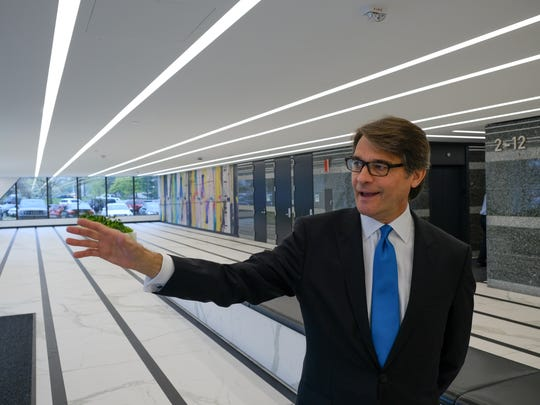 Clarence M. Gleeson II shares details of the renovations at Southfield Town Center.