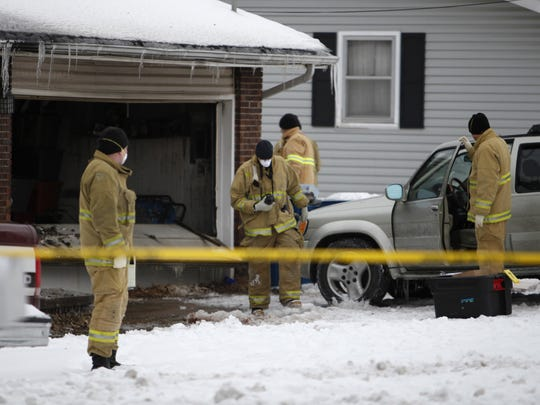 Officials say three bodies were found inside a burning home on North Roosevelt Avenue in Springfield in February.