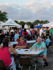 The Taste of St. Lucie drew big crowds eager to sample food and beverages from more than 35 vendors.