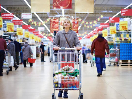 A grocery challenge is intended to raise awareness
