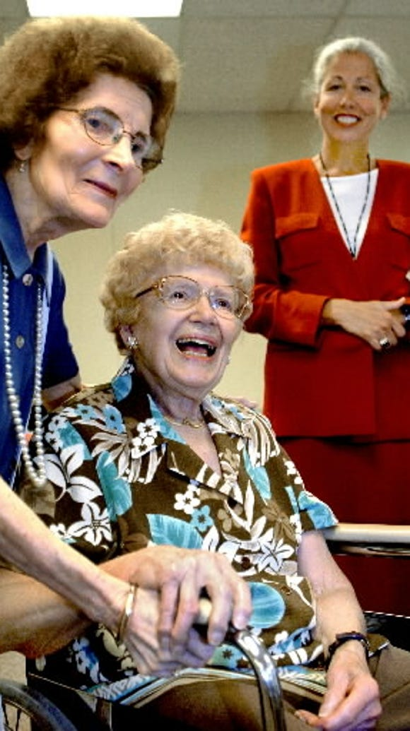 Rachel Witmyer, seated, was a pioneering York County