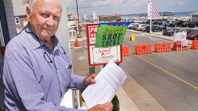 Hampton businessman Bob Preston has started a petition to reopen the portion of Ocean Boulevard that has been shut down this summer.